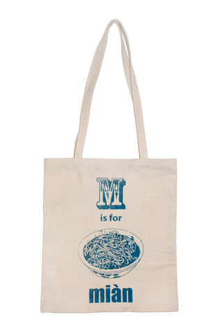 Miàn Canvas Tote Bag