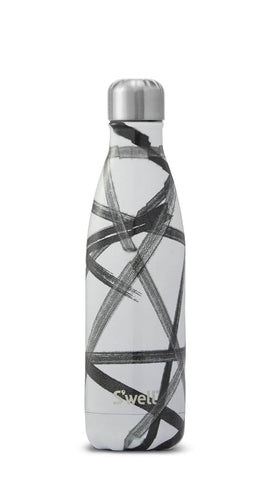 Black Ribbon - Stainless Steel S'well Water Bottle