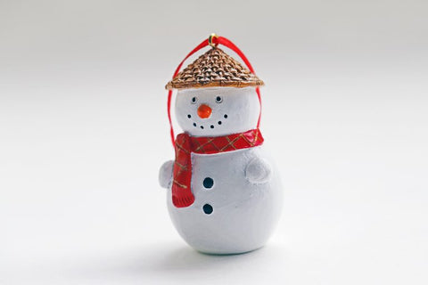Hong Kong Hanging Decoration: Snow Man