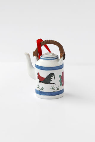 Hanging Decoration: Rooster Kettle