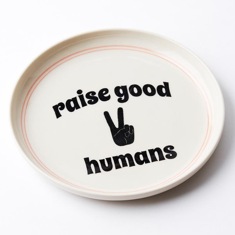 Humans Plate