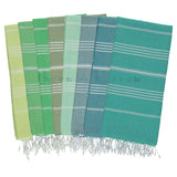 Greens 100% Cotton Turkish Towel