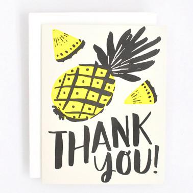 'Pineapple Thanks' Card