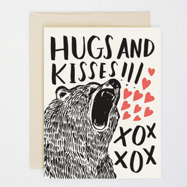 'Bear Hugs' Card Greeting Cards - Thorn and Burrow