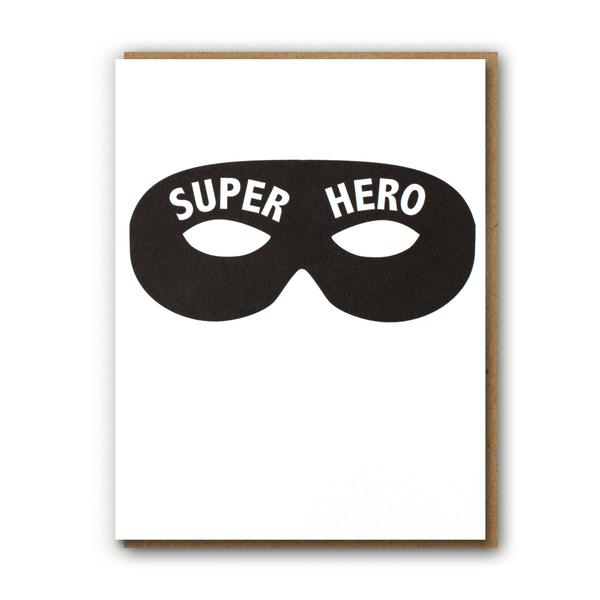 ' Super hero ' Card