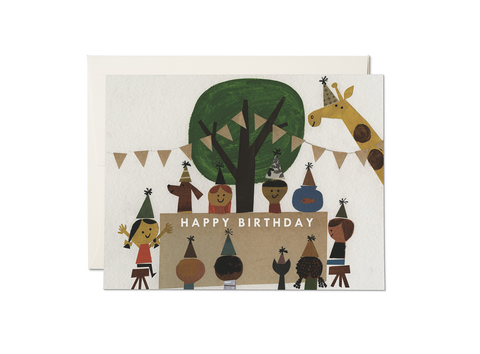 """ Birthday Party "" Card"