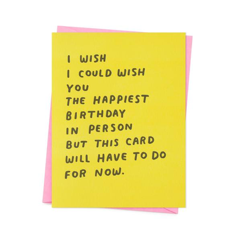 'The happiest birthday ' Card