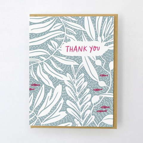 ' California flora kelp ' Card