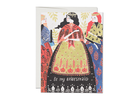 """ Three Bridesmaids "" Card"