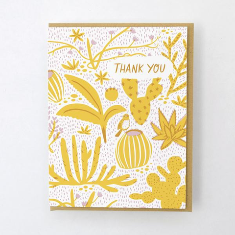 ' California flora cacti ' Card