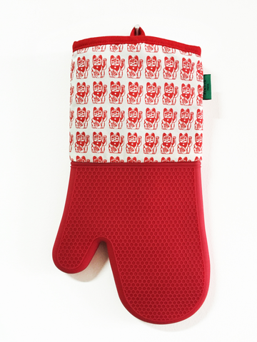 Lucky Cat Oven Glove