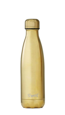 Yellow Gold - Stainless Steel S'well Water Bottle
