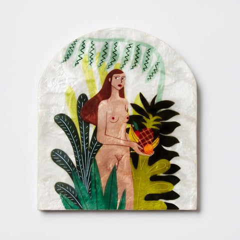 Castaway Harvest Tile Wall Decor