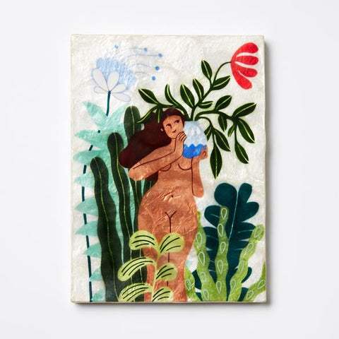 Castaway Roots Tile Wall Decor