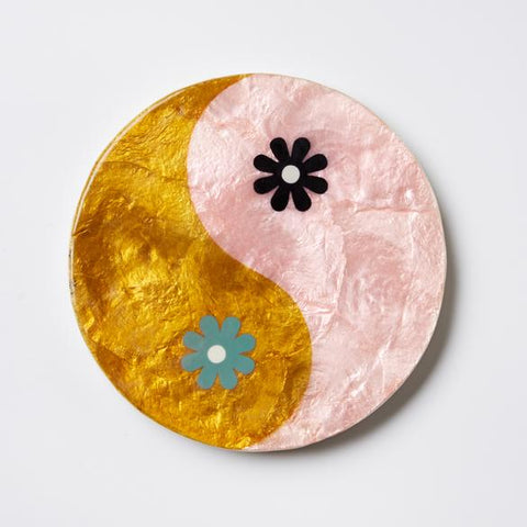Yin Yang Wall Decor (Multiple Colors)