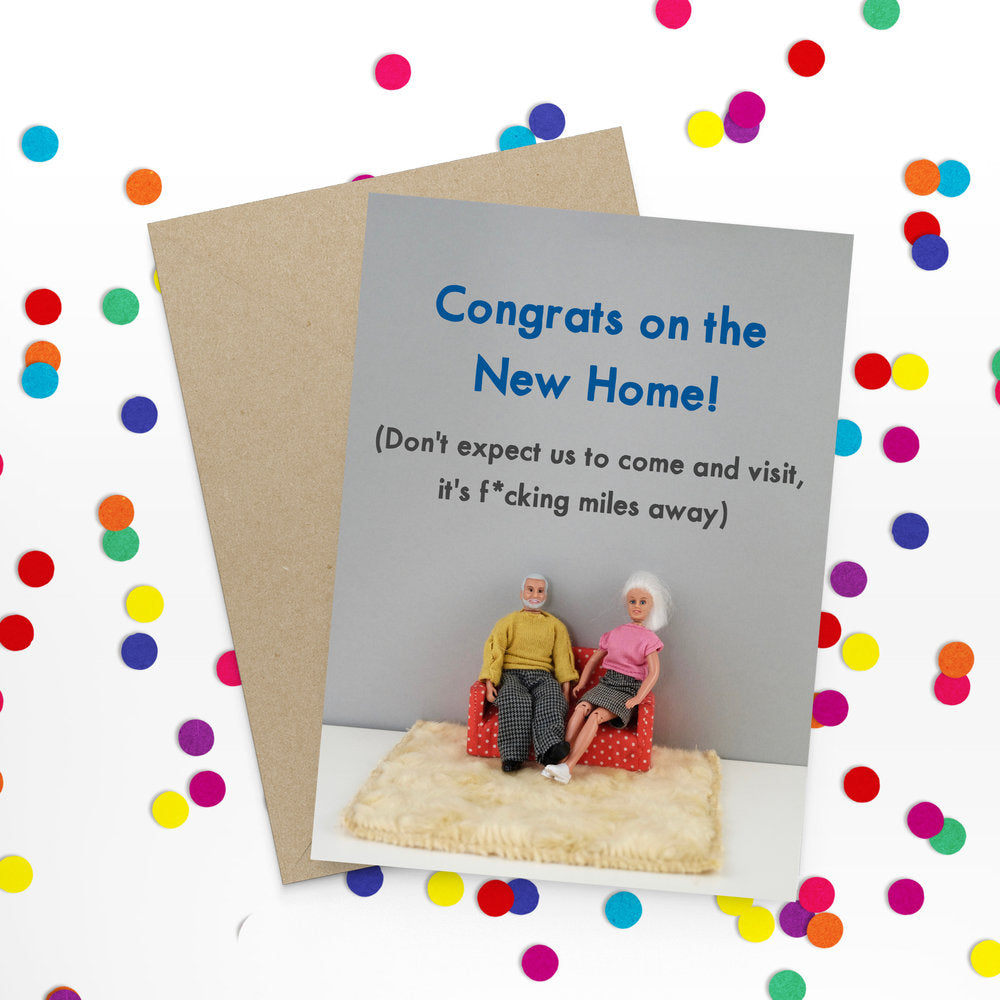 """ Congrats New Home "" Greeting Card"