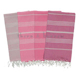 Pinks 100% Cotton Mini Turkish Towel