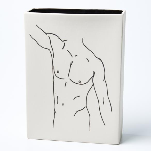 Stretch Nude Vase