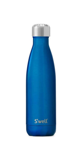 Shimmer Ocean Blue - Stainless Steel S'well Water Bottle