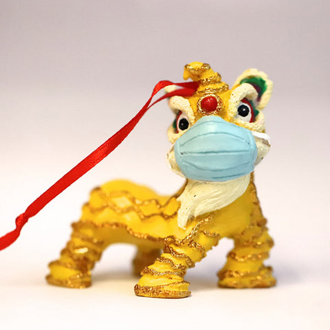 Hanging Decoration: Masked Lion Dance (Limited Edition)