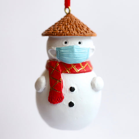 Hanging Decoration: Masked Snowman (Limited Edition)