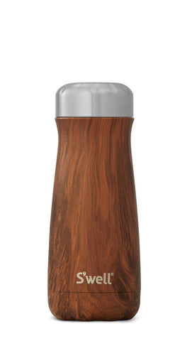 Teakwood Traveler - Stainless Steel S'well Water Bottle