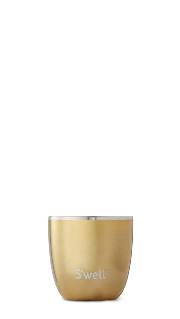 Yellow Gold Tumbler - Stainless Steel S'well Water Bottle