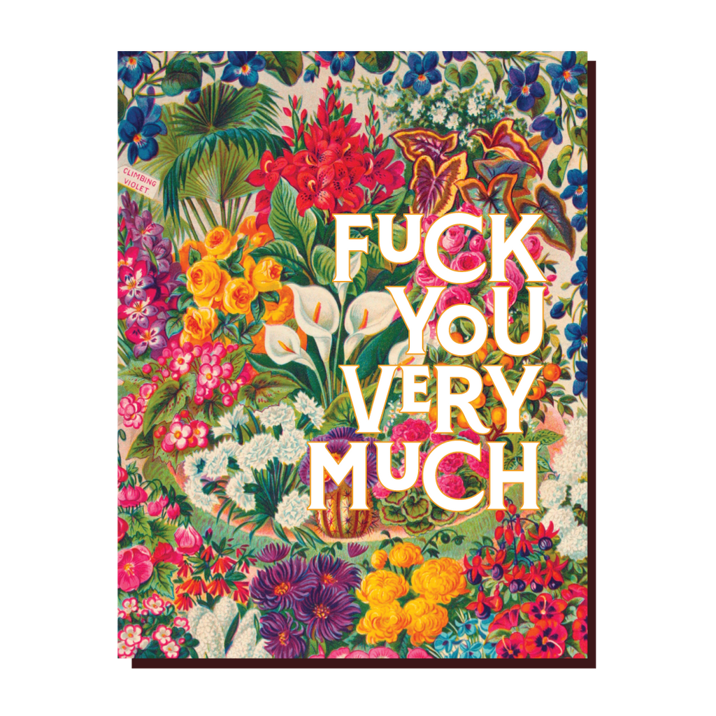 """ F You Very Much! "" Card"