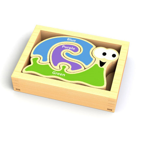 Mini Color Snail Puzzle