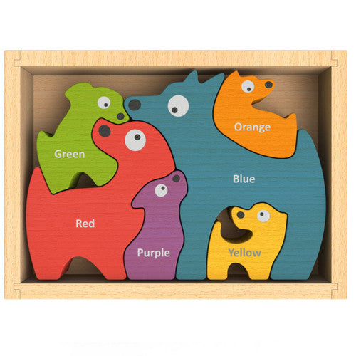 Bilingual Color Puzzle