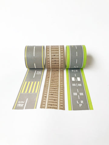 Build Your Own Track Washi Tape