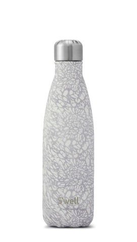 Monochrome White - Stainless Steel S'well Water Bottle
