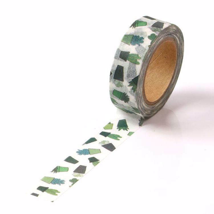 Potted Succulent Washi Tape