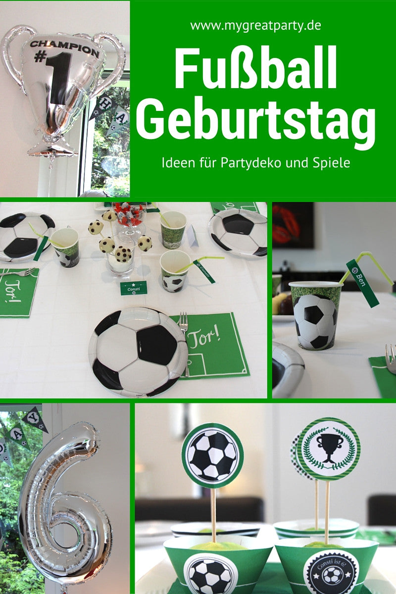 Ideen Fur Die Fussball Party My Great Party