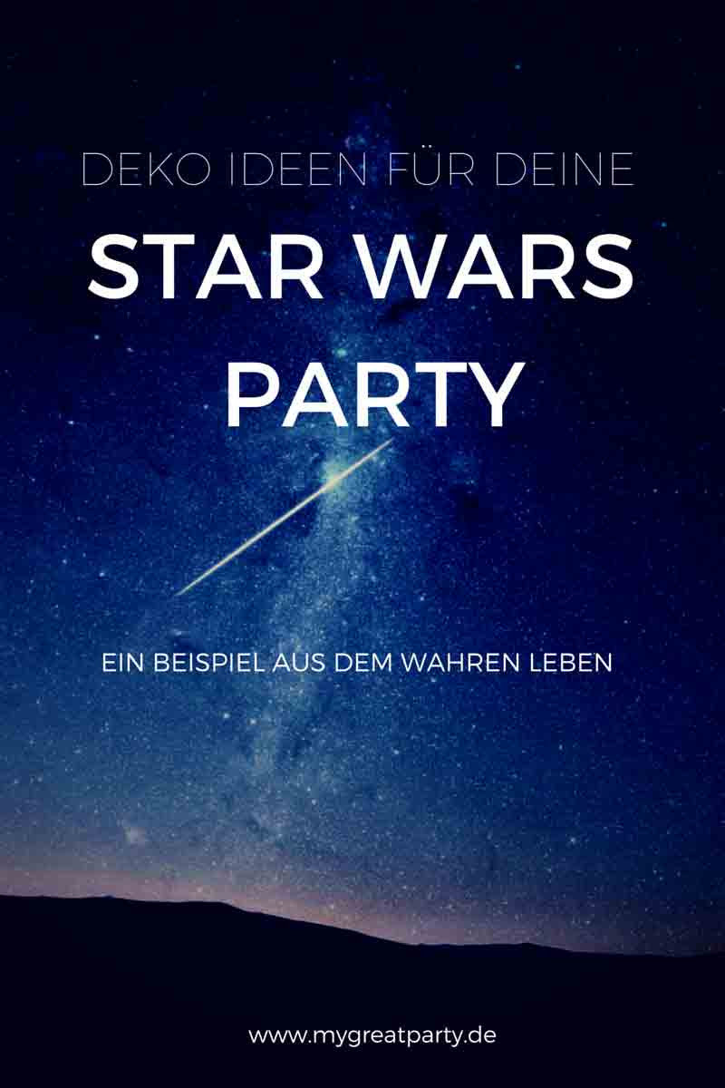 Deko Ideen für deine Star Wars Party - My Great Party