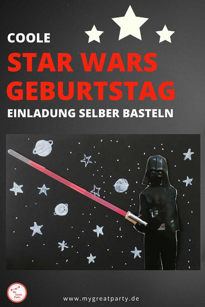 "news – ""basteln"" – my great party, Einladung"