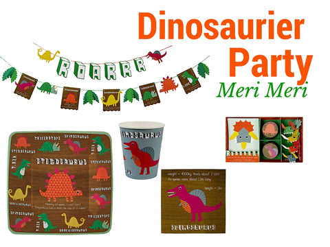 Dinosaurier Party Meri Meri