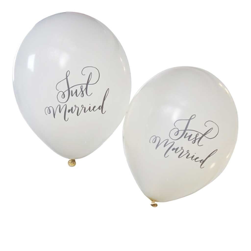 "Ballon ""Just Married"""