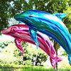 Folienballon Delfin Rosa Metallic