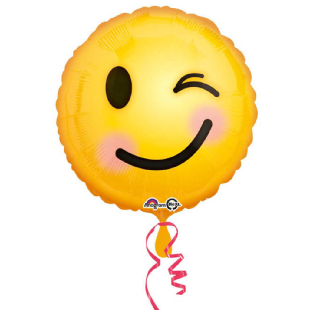 Folienballon Emoticon Smile