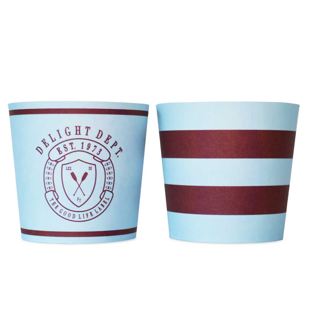 "Food Cups ""Preppy Paddle"" - Naschbox im Ruderclub Design"
