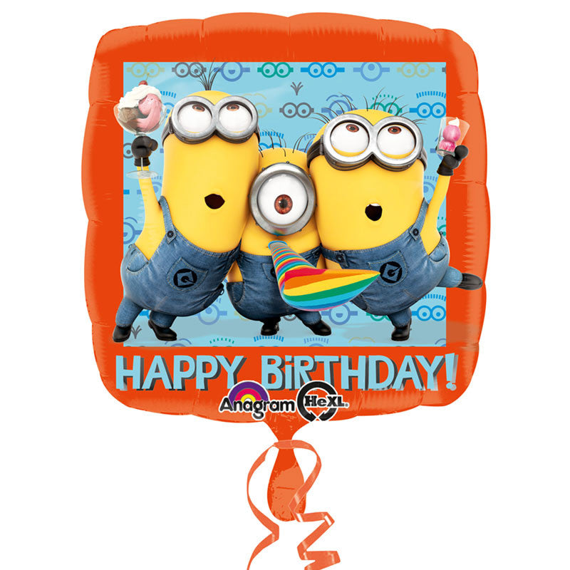 "Minions Folienballon ""Happy Birthday"""