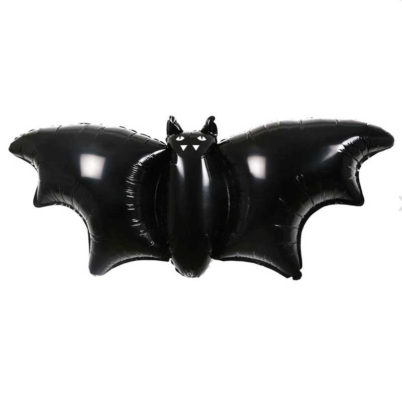 Halloween Fledermaus Folienballons 3er Set