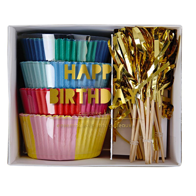 "Meri Meri Cupcake-Kit ""Happy Birthday"""