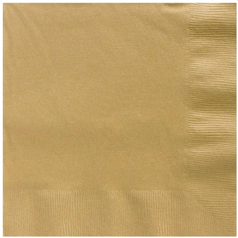 Serviette Gold (20 Stk.)