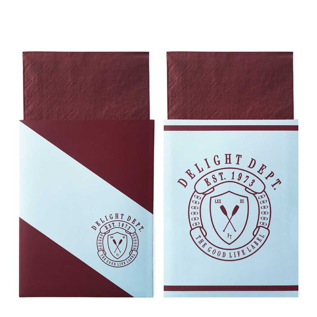 "Ruderclub Servietten in Taschen ""Preppy Paddle"""