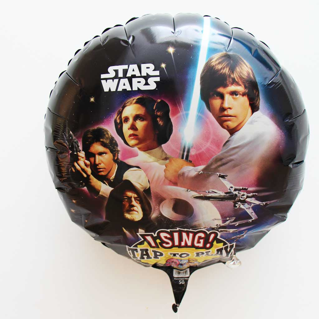 Singender Star Wars Folienballon - Tap to Play