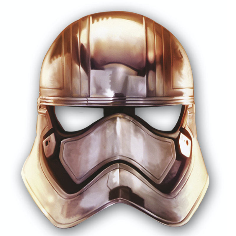 Star Wars Maske Captain Phasma, Material Pappe
