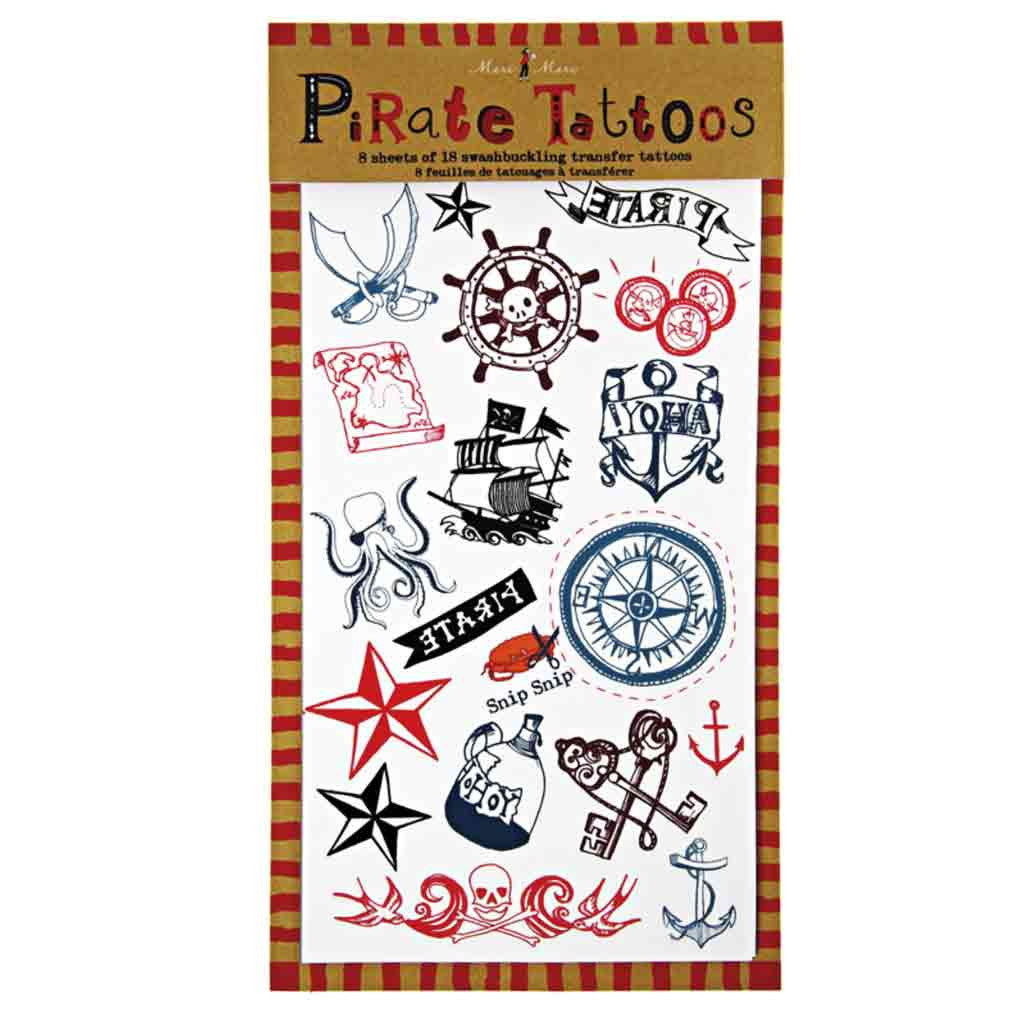 Piraten Tattoos