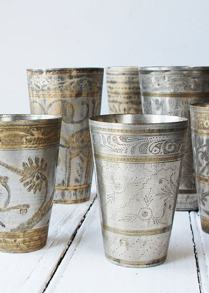 Antique Lassi Cups - Montys Vintage Shop - 1